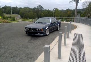 1986 BMW E24 635csi