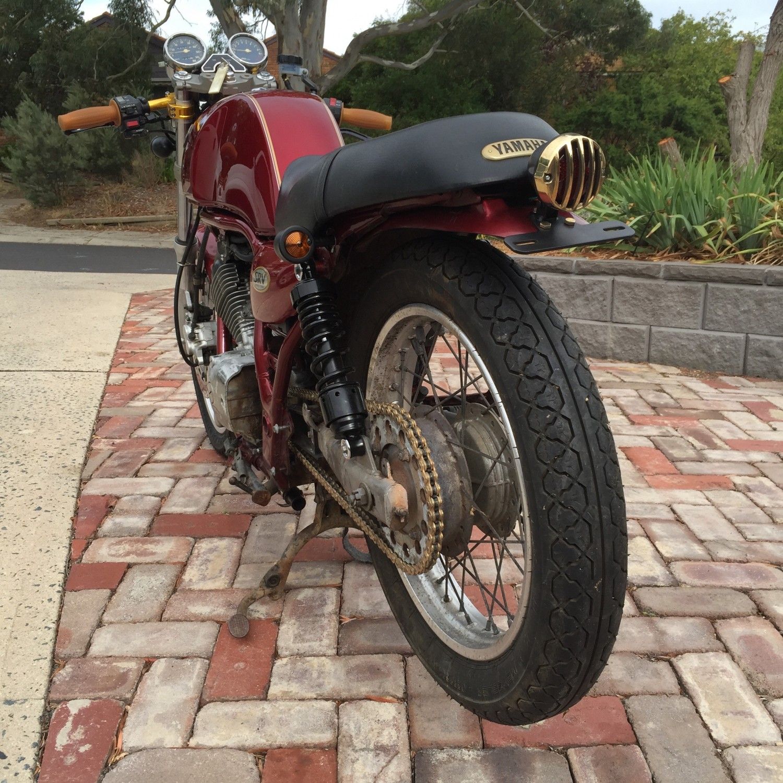 1989 Yamaha 249cc SRV250
