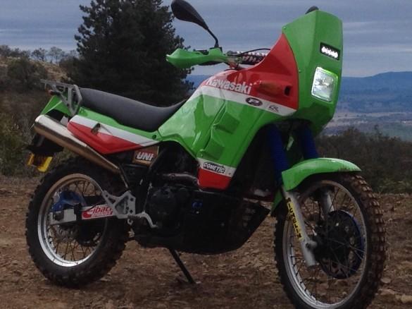 1990 Kawasaki 651cc Klr650 Kl650 Tengai Hoppy Shannons Club