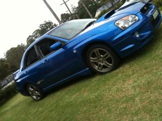 2005 Subaru WRX EVO Spec 6