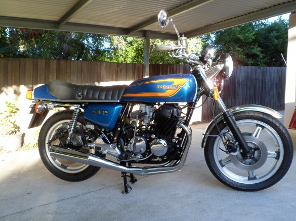 1978 honda cb750f2 madbiker shannons club for Motor vehicle open on saturday