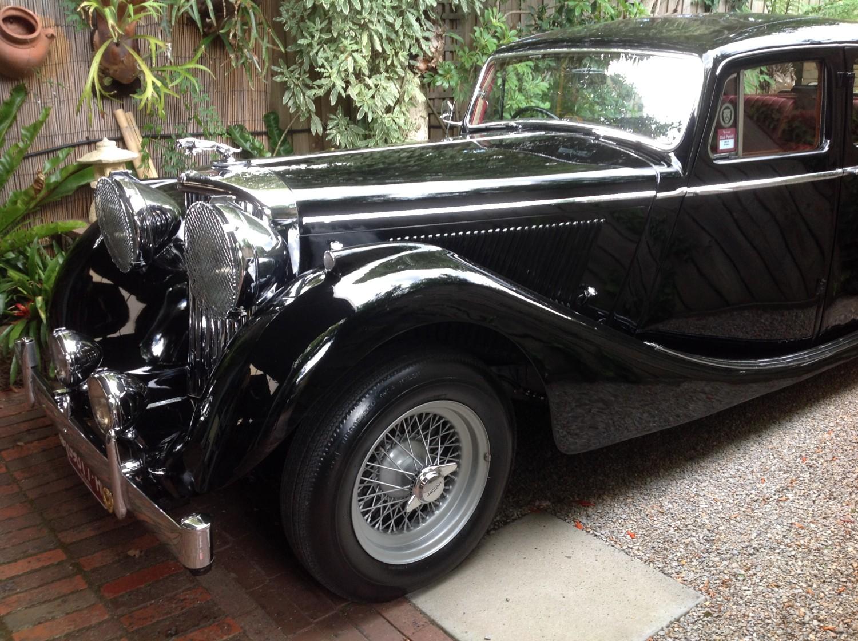 1948 Jaguar Mark 4,  3.5 litre