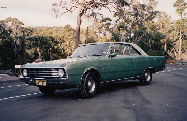 1969 Chrysler Valiant VF Regal 770 Hardtop