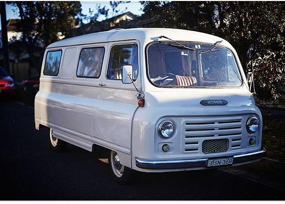 1966 Morris J2 - 152 Commercial Van