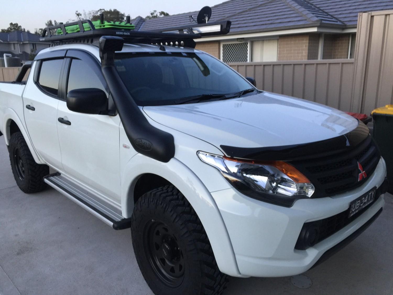2018 Mitsubishi Triton 4x4 Ub34ty Shannons Club