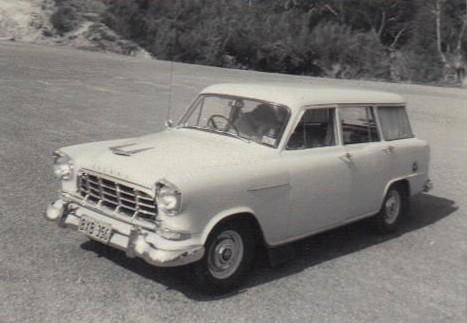 1956 Holden FC Standard Station Sedan