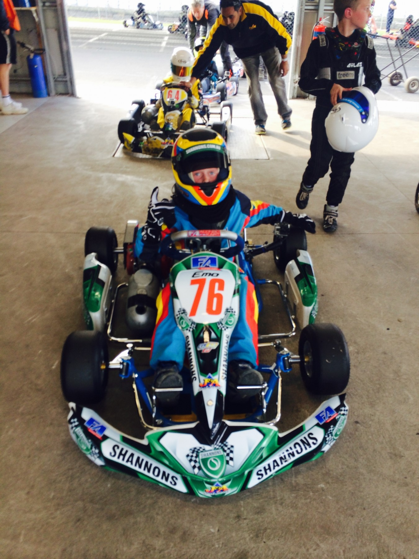 2017 Shannons Rocket Racing Go Kart KA3 Junior