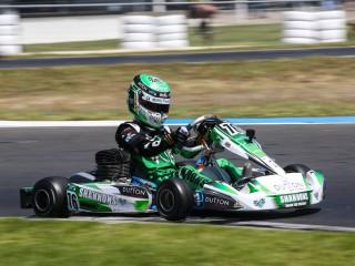 2017 Shannons Rocket Racing Go Kart KA3 Junior