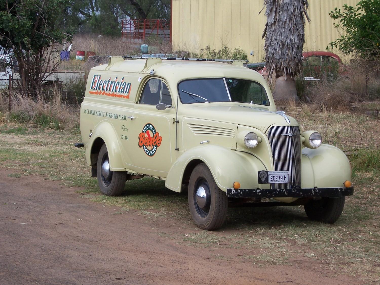 1937 Chevrolet Standard Panel Van