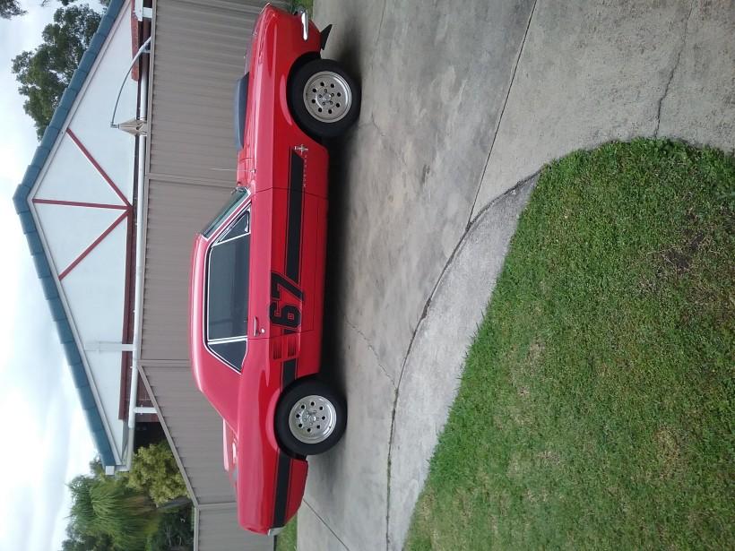 1967 Mustang Mustang code c