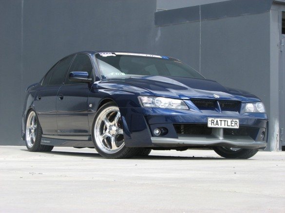 2004 holden quotcustomquot vy hsv clubsport rattler shannons