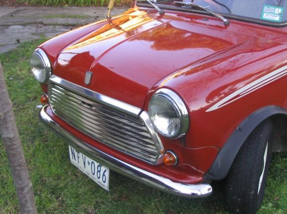 1981 austin mini jason s shannons club for Garage austin mini