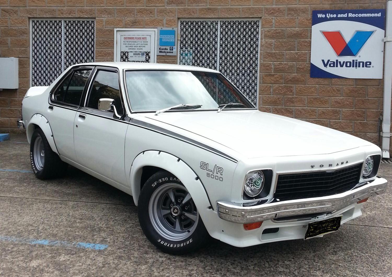 1974 Holden TORANA SL/R 5000 L34
