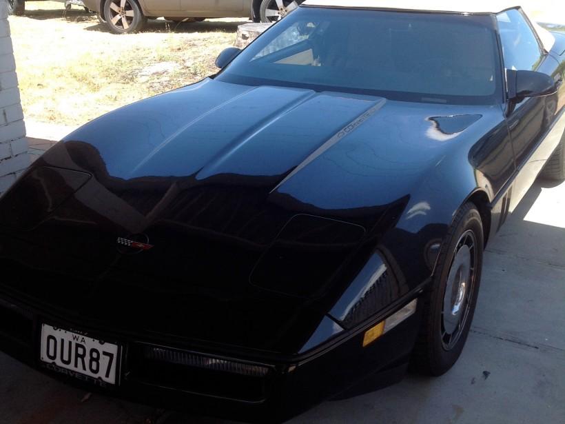 1987 Chevrolet Corvette c4