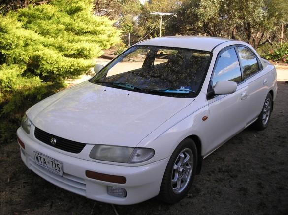 1995 Mazda 323 PROTEGE - Hazmatt - Shannons Club