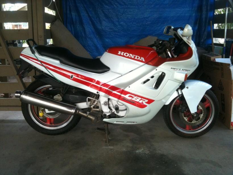 1987 Honda Cbr 600f Hurricane Motocrossa77 Shannons Club