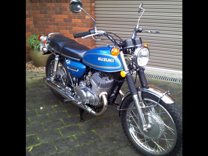 1975 Suzuki T500 TITAN