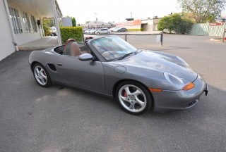 2001 Porsche Boxster S Nicko Shannons Club
