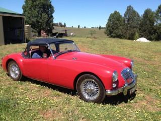 1957 MG A Convertible