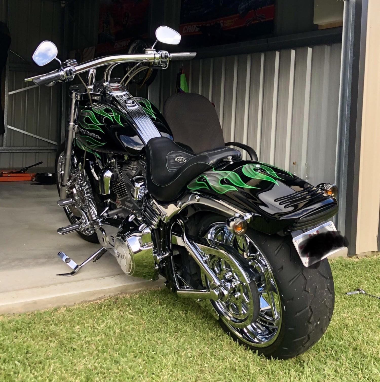 2009 Harley-Davidson 1800cc FXSTSSE CVO SOFTAIL SPRINGER