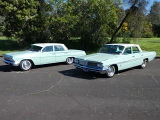 1962 Chevrolet pontiac Laurentian and Chevrolet Bel Air