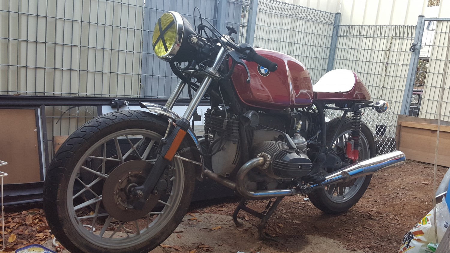 1983 Bmw R100rt Cafe Racer Rotorboy68 Shannons Club