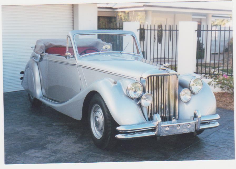 1950 Jaguar Mark V - Billydriving - Shannons Club