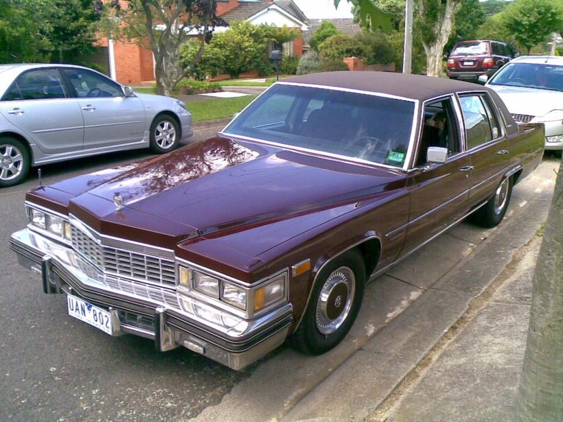 1977 Cadillac fleetwood brougham d'elegance
