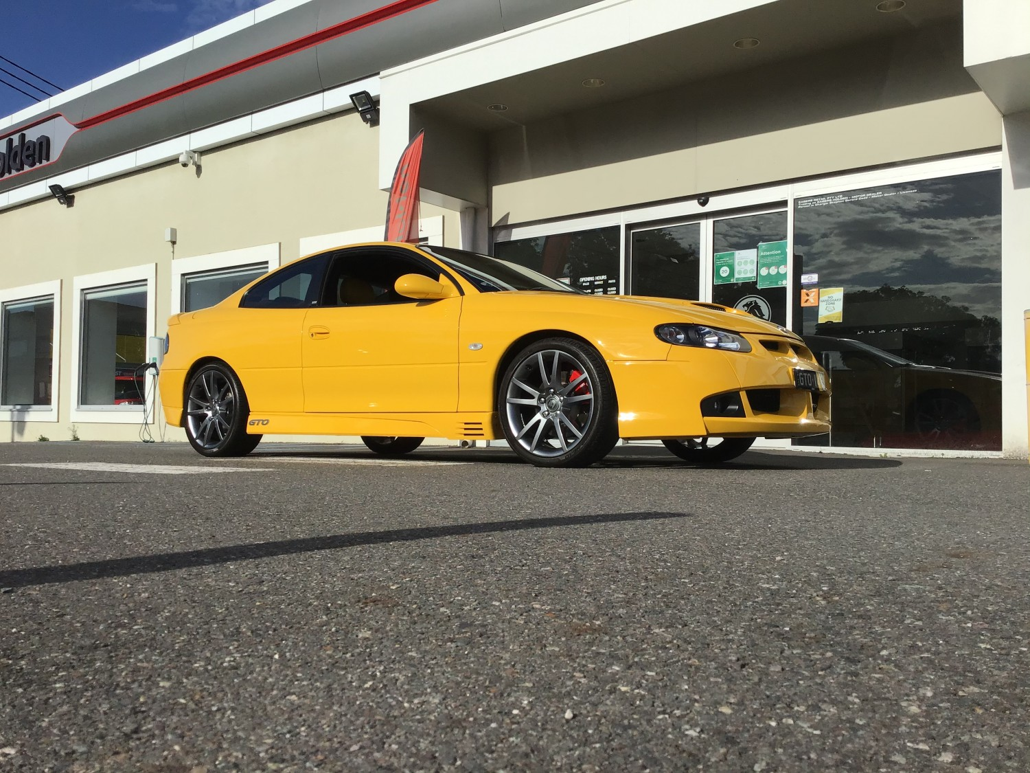 2005 Holden Special Vehicles VZ GTO Coupe