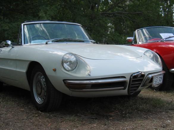1969 Alfa Romeo Spider Duetto Sting Shannons Club