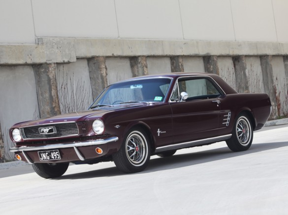 1966 Ford Australia Delivered Mustang