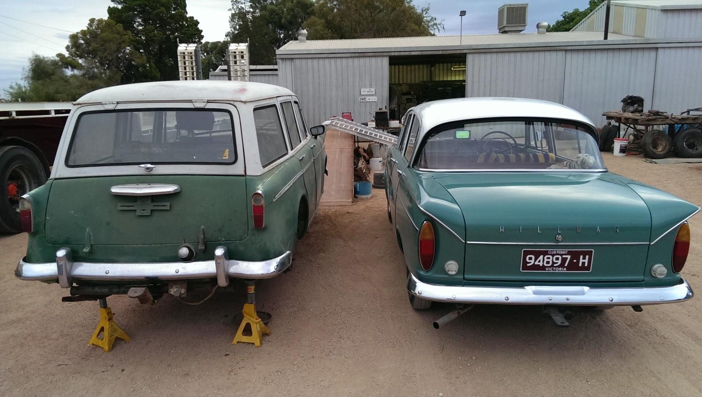 1959 Hillman Minx Estate Series IIIA