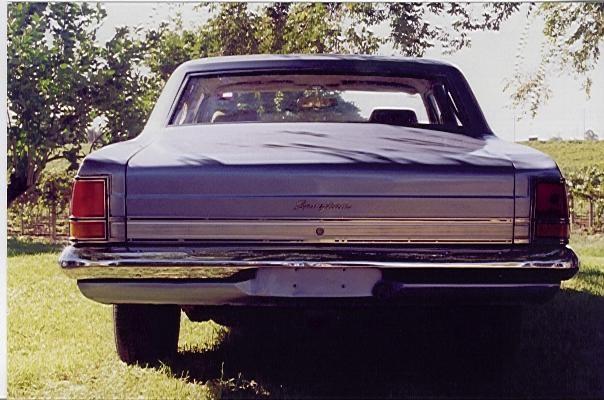 1968 Holden BROUGHAM