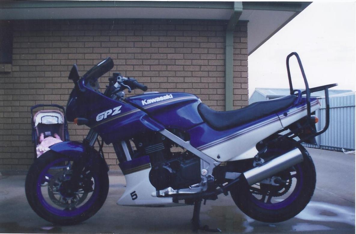 1990 Kawasaki GPZ 500