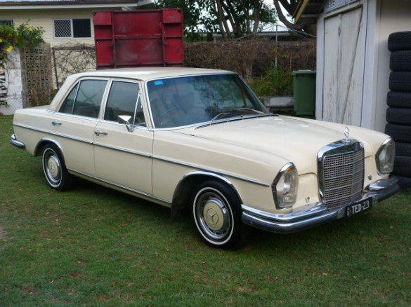 1972 Mercedes Benz 280se 3 5 Uncleted Shannons Club
