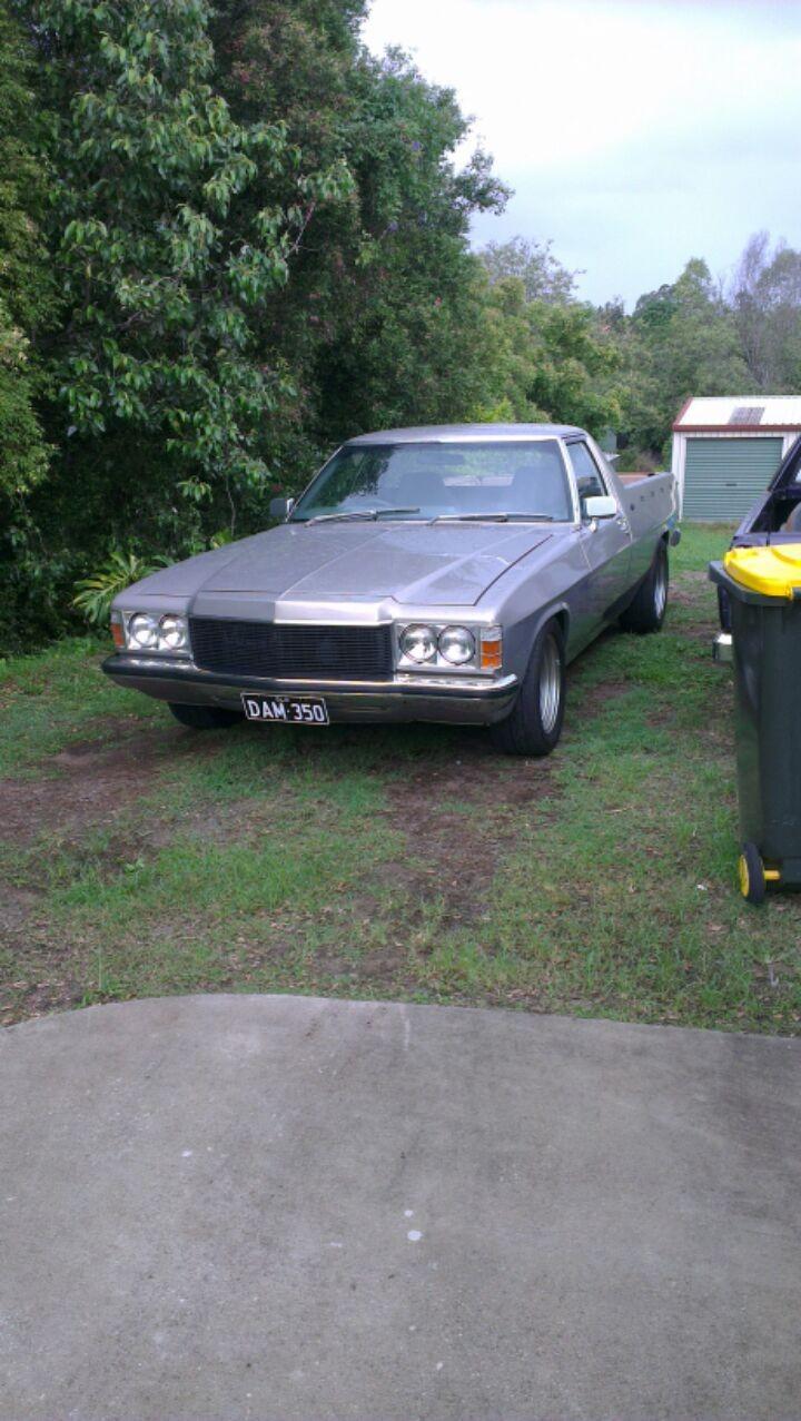 1978 Holden Hz - Damhzute