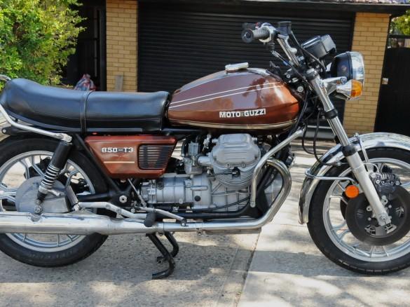 1976 moto guzzi 850 t3 superbikesrule shannons club. Black Bedroom Furniture Sets. Home Design Ideas
