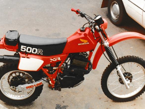 Honda Xr on Honda Xr History