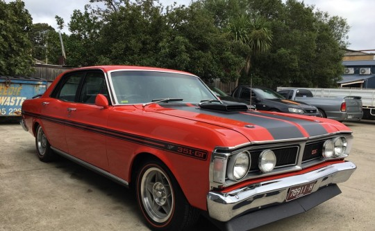 1971 Ford XY GHT HO PHASE 3 Tribute.