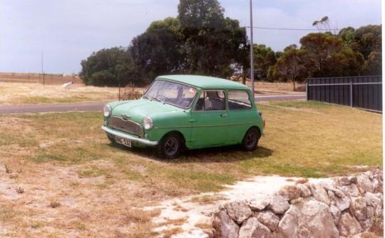 1968 Morris Mini Deluxe