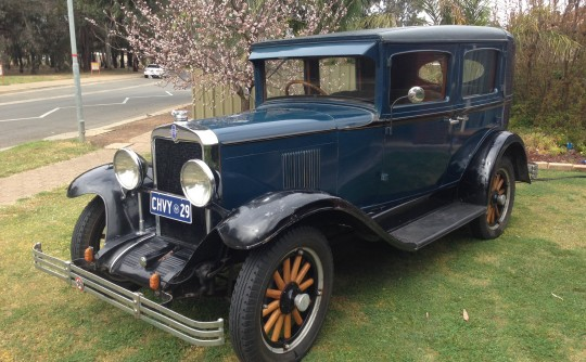 1929 Chevrolet International AC