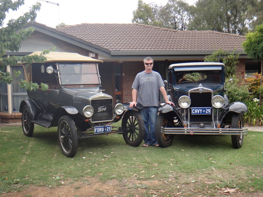 1921 Ford Tourer