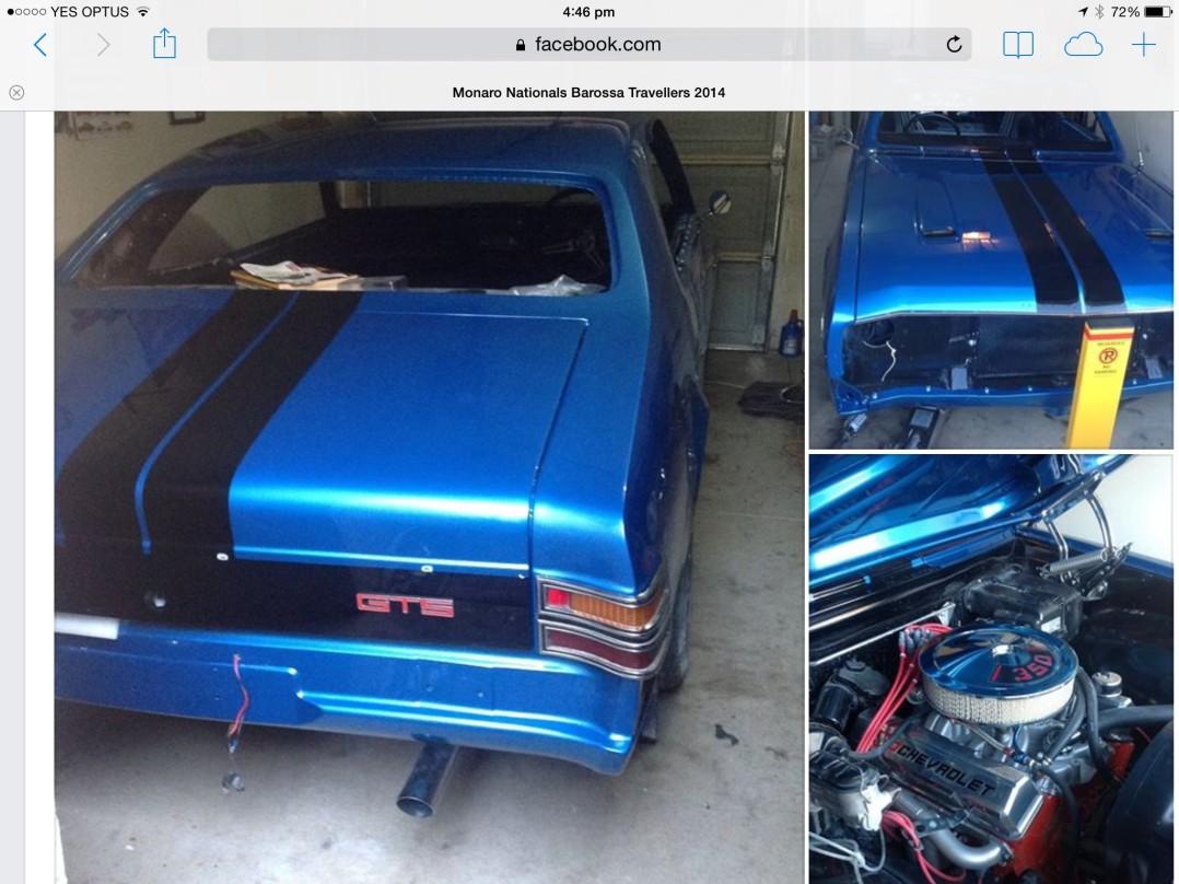 1970 Holden HT Monaro GTS