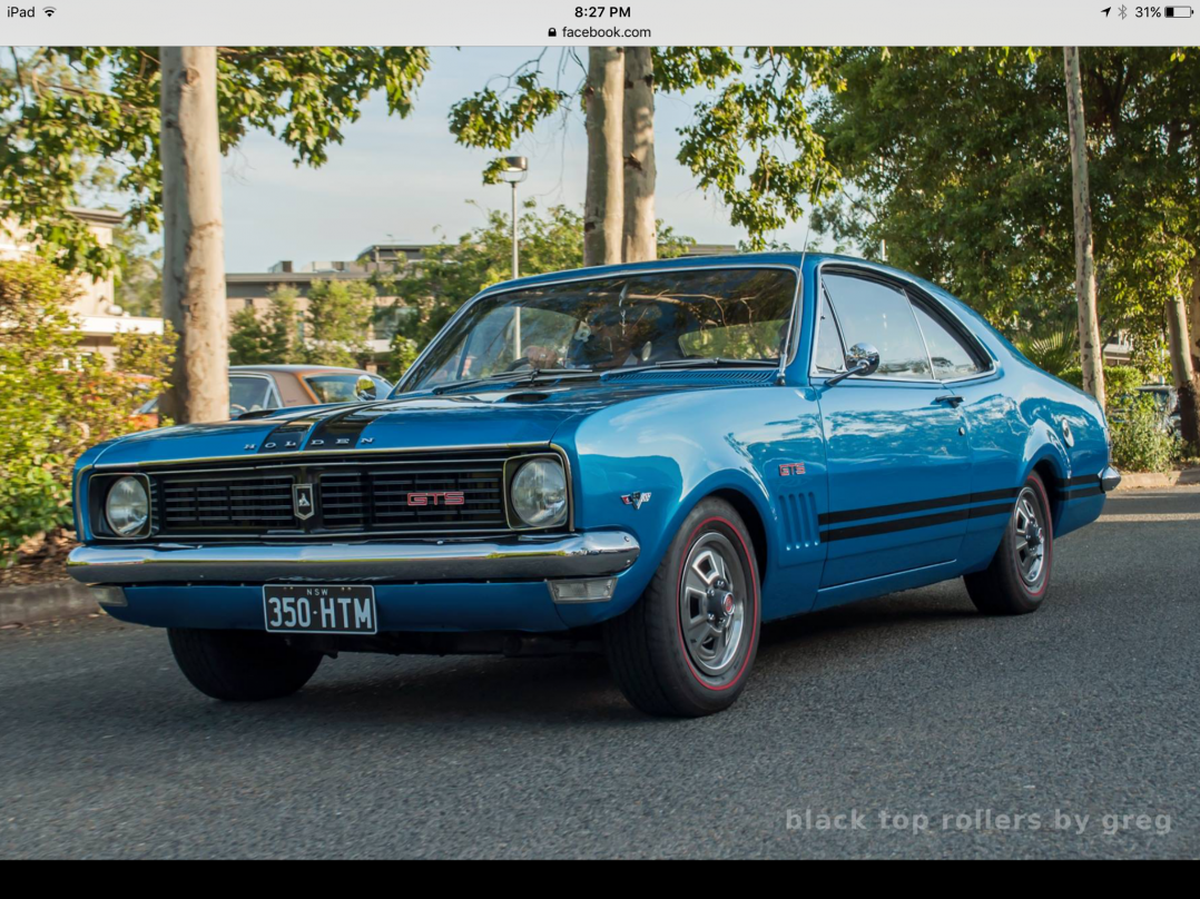1970 Holden Monaro