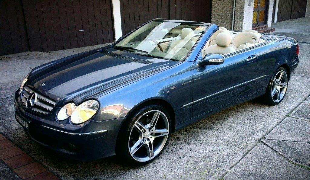 2005 Mercedes-Benz CLK 350