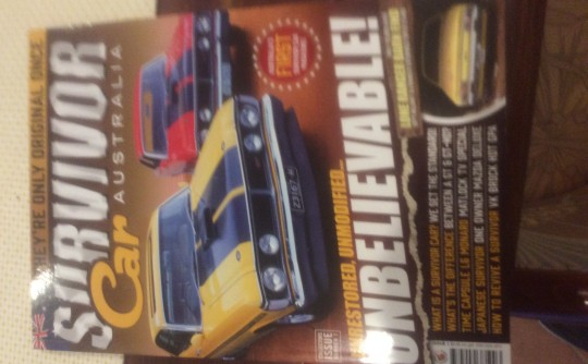 Australian Muscle Car & Survivor Car Magazines
