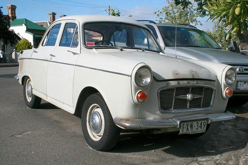 1958 Morris Major  ( Not the Elite )
