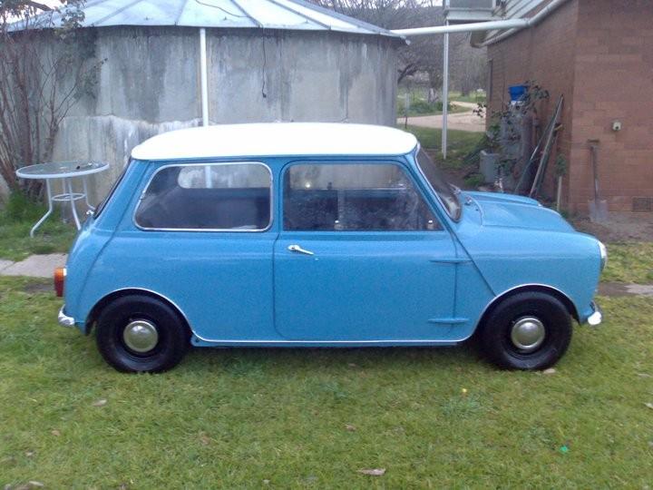 1962 Morris 850