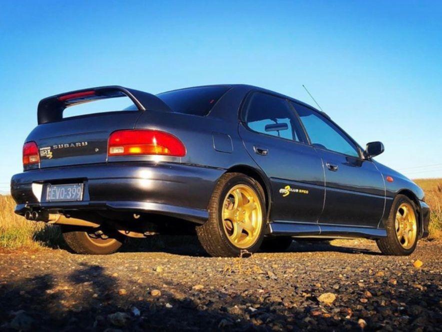 1999 Subaru IMPREZA WRX CLUB SPEC EVO 3