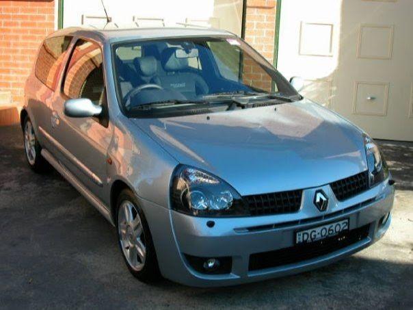 2002 Renault CLIO RENAULT SPORT